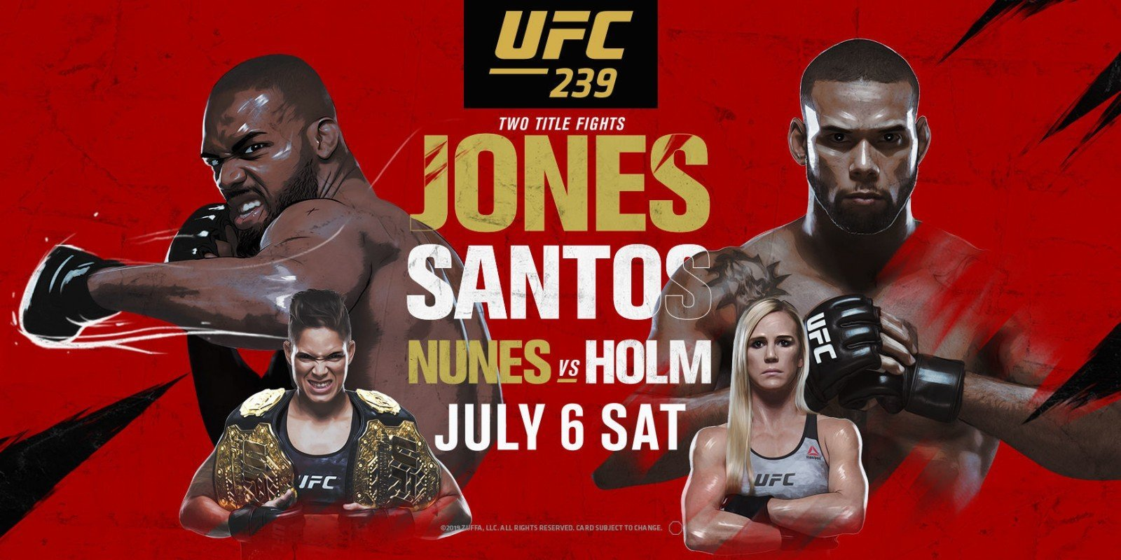 Octogon n°295 – UFC 239 « Jones/Santos »