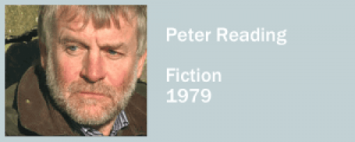 graphic for Peter Reading, Fiction