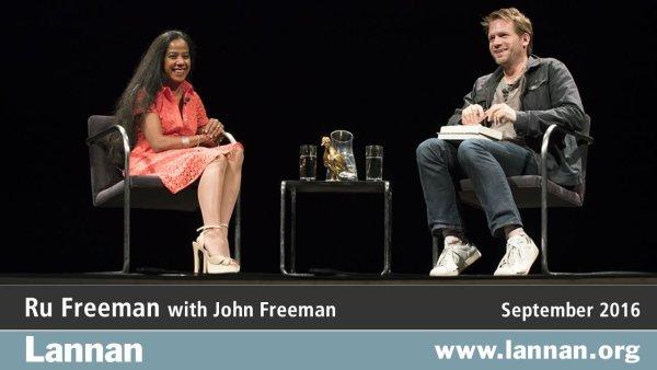Ru Freeman with John Freeman