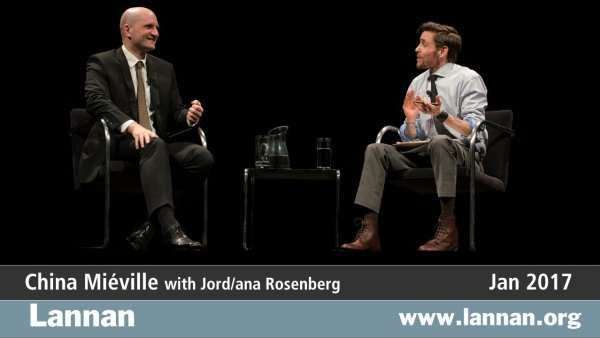 China Miéville with Jord/ana Rosenberg