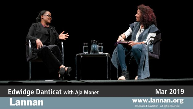 Edwidge Danticat with Aja Monet