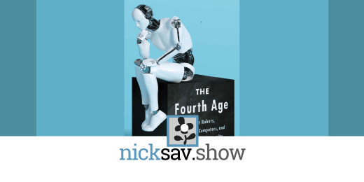 Byron Reese podcast interview on AI, NICKSAV Film & Music SHOW