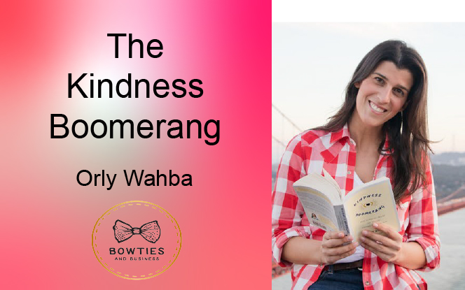 Kindness Boomerang – Making the World Around You Better in 365 Days