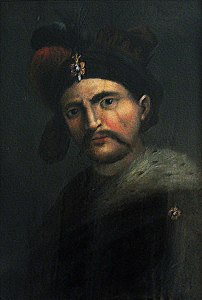 Shah Abbas by an unknown Italian Painter