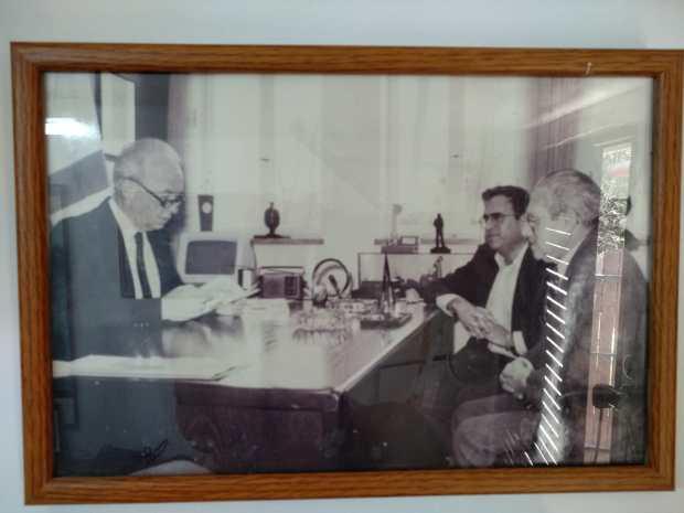 Ypssi Alpher Aharon yariv Yitzhak Rabin