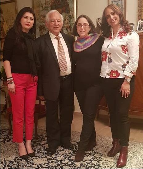 מנשה אמיר, קול ישראל בפרסית, שירלי שמסיאן, סהר אזרפרד