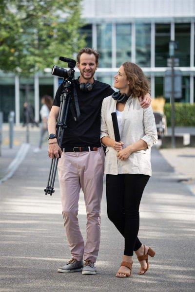 My Cancer Story co-creators, Katarina and Martin