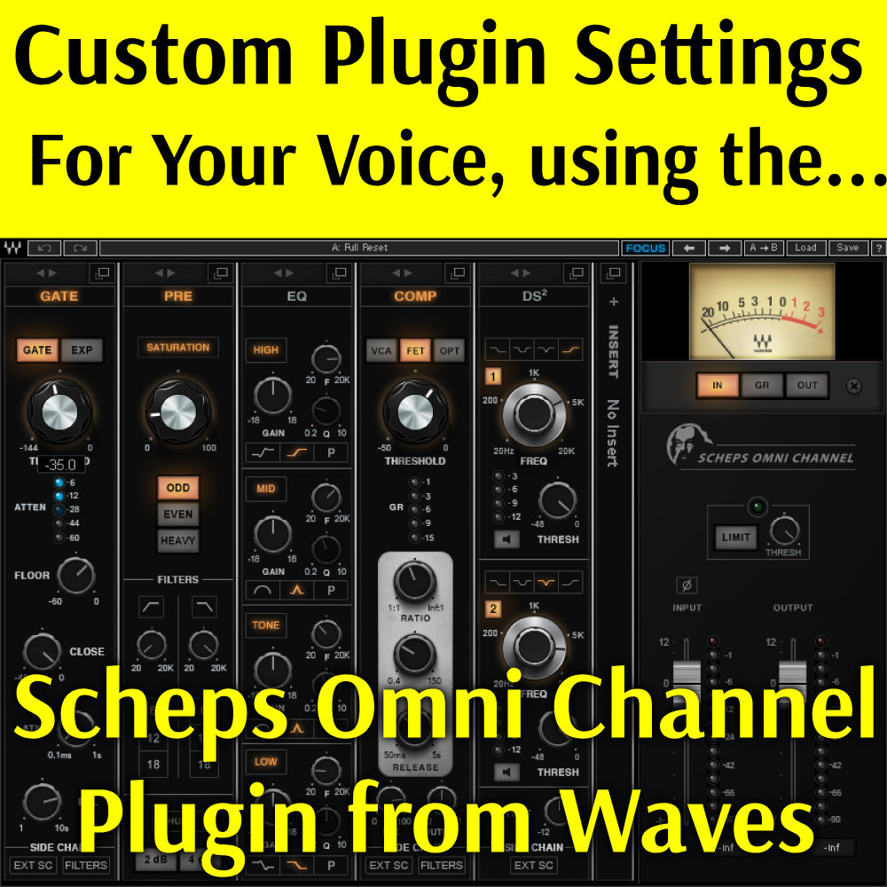 Custom Settings for Your Voice, Using the Scheps Omni Channel Plugin
