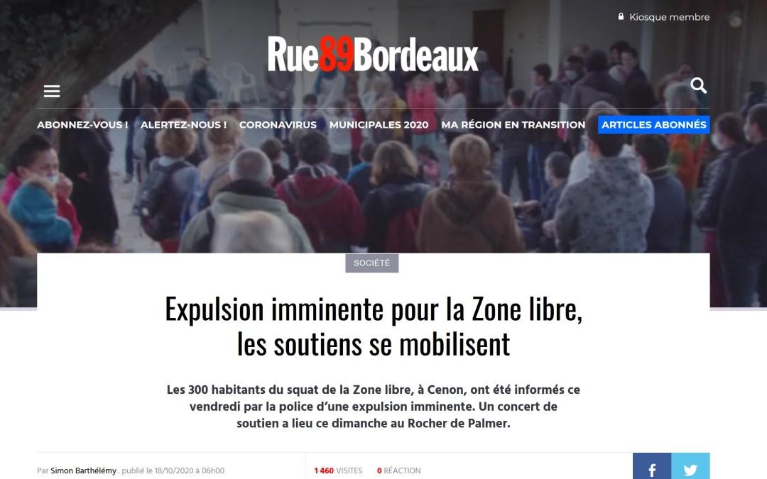 La Zone libre, ces squats que la préfecture démantèle