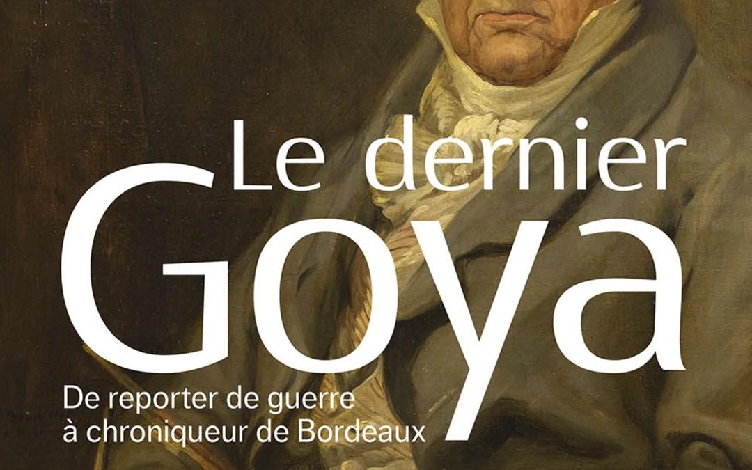 Goya, un « photographe » de presse à Bordeaux