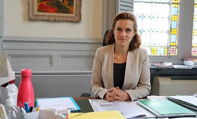 Léonore Moncond'huy, mairesse verte et déjà mûre