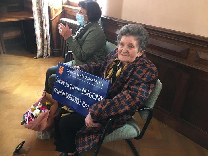 Saint-Palais : Jacqueline Bidegorry, une « Juste » enfin à sa place