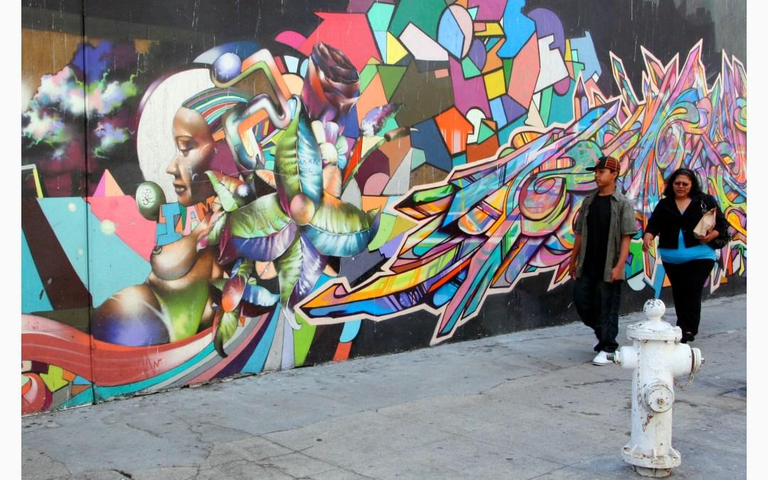 Covid : le street art à la rue