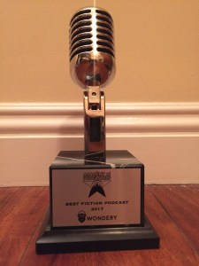Best Fictional Podcast Trophy