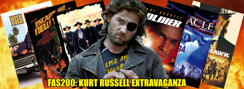 FAS200 – KURT RUSSELL SEASON – Used Cars (1980), Escape from New York (1981), Tombstone (1993), Soldier (1998), Miracle (2004) and Bone Tomahawk (2015)