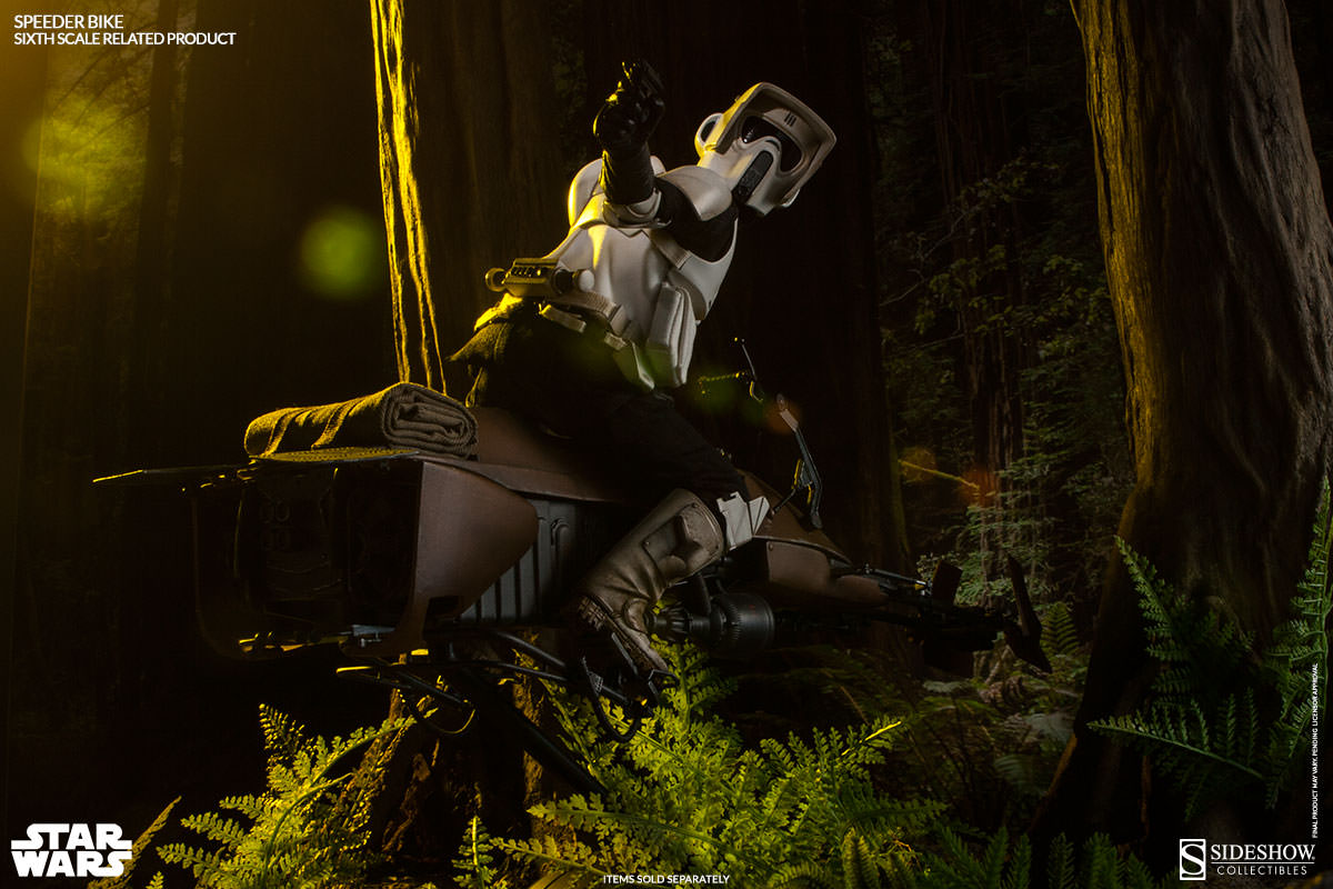 Speeder Bike Sixth Scale Figure Related Product By Sideshow