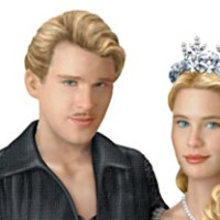 "Princess Bride ""As You Wish"" Westley And Buttercup Sculpture"