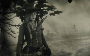 Red Dead Redemption screenshot of character in sepia tones
