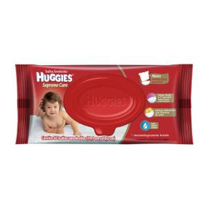 Lenços Umedecidos Huggies Supreme Care