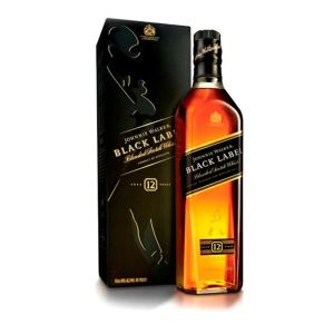 Whisky Johnnie Walker Black Label 1 Litro - Original
