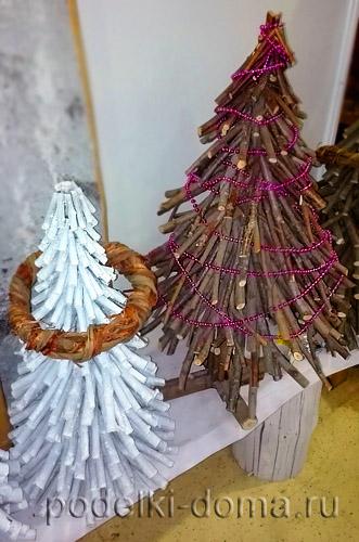Árvores de Natal de árvores de campo
