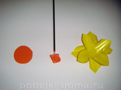 бумажные цветы нарциссы05