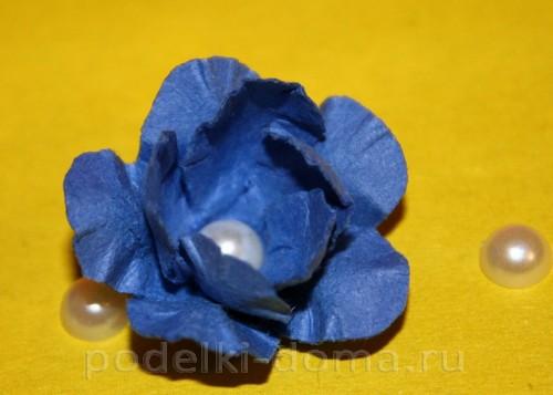 цветочки из акварельной бумаги 10