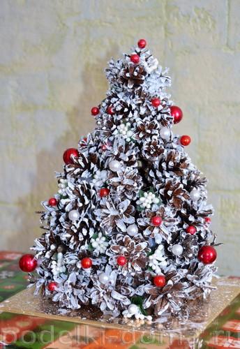 Árvore de Natal de cones