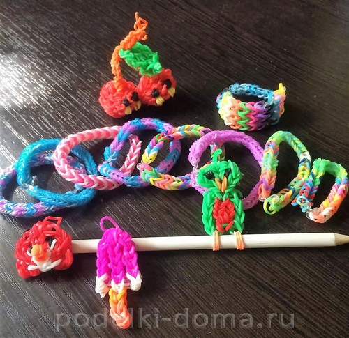 игрушки из резиночек Кислюк Дарья