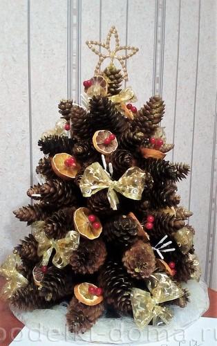 Αφρώδης χριστουγεννιάτικο δέντρο
