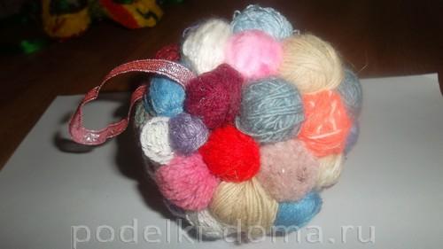 шарик из клубков