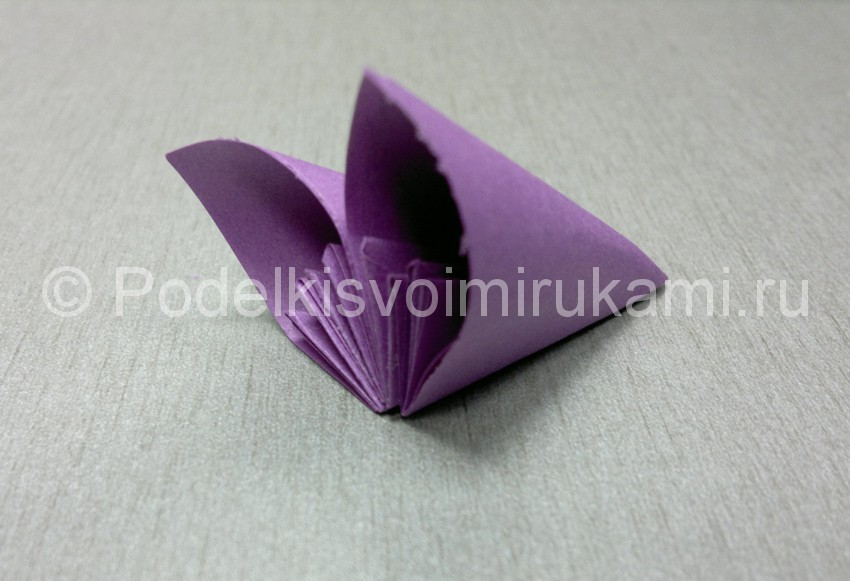 Origami Lotus Flower Easy Instructions - All About Craft | 581x850