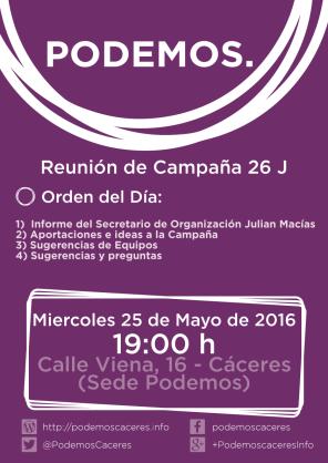 Reunión de Campaña 26 J