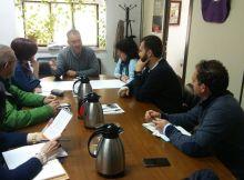 Reunión de oposición con colectivos de discapacitados