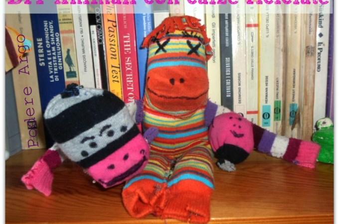 #DIY Animali con calze scompagnate e riciclate Sock Animals