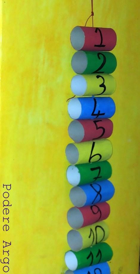 Calendario Avvento Con Rotoli Carta Igienica.Calendario Dell Avvento Fai Da Te Riciclando I Rotoli Della
