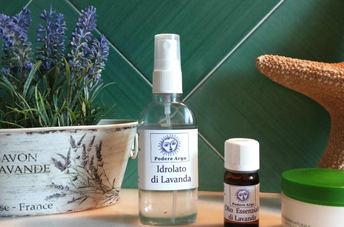 Olio essenziale e Idrolato di lavanda per la bellezza del viso
