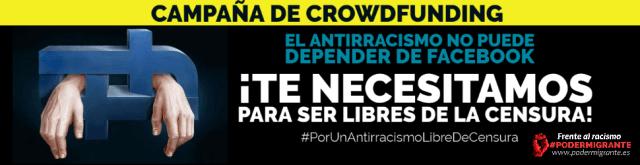 CAMPAÑA DE CROWDFUNDING #PorUnAntirracismoLibreDeCensura