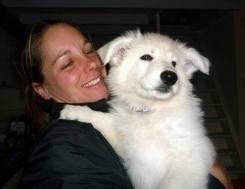Hondentrainer Iris met haar hond Jet