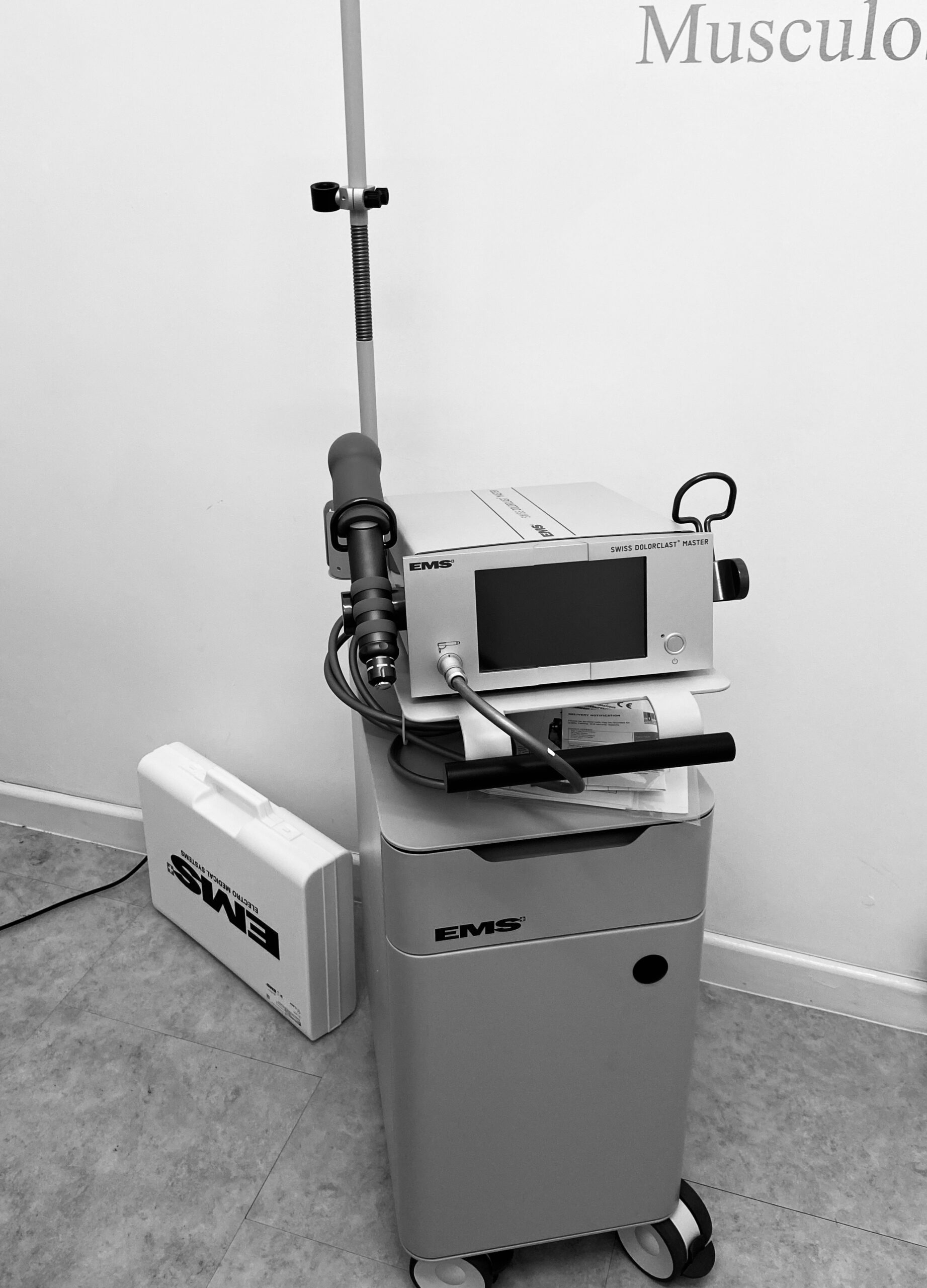 Shockwave Therapy now available @ The Vale Foot Clinic