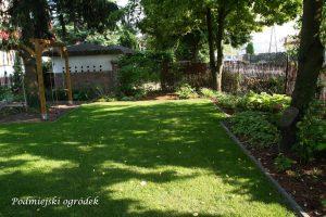 ogród, maj