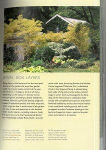 """""""The layered garden"""" - rabata przy domu jesienią"""