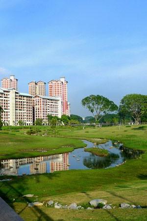park deszczowy w Singapurze