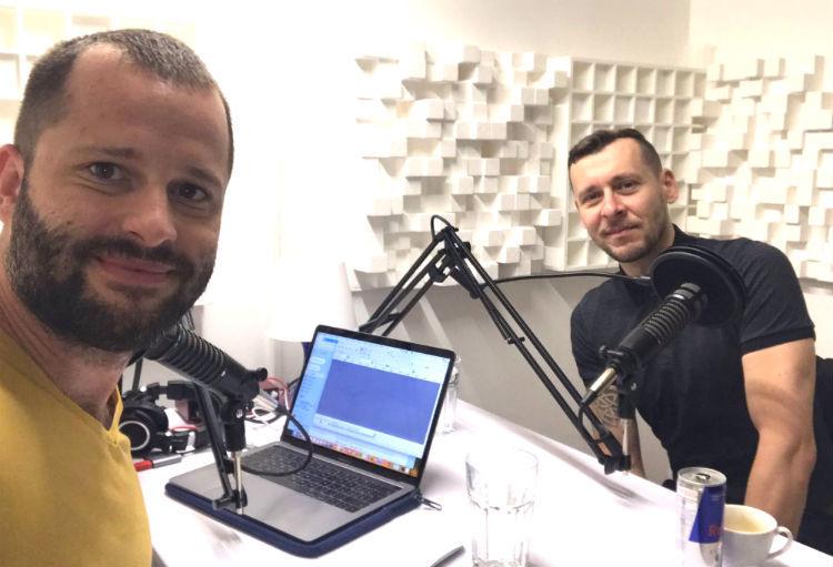 Ján Anguš a Peter Chodelka