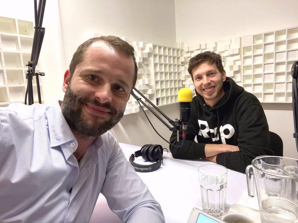 Bohumil Pokštefl a Peter Chodelka