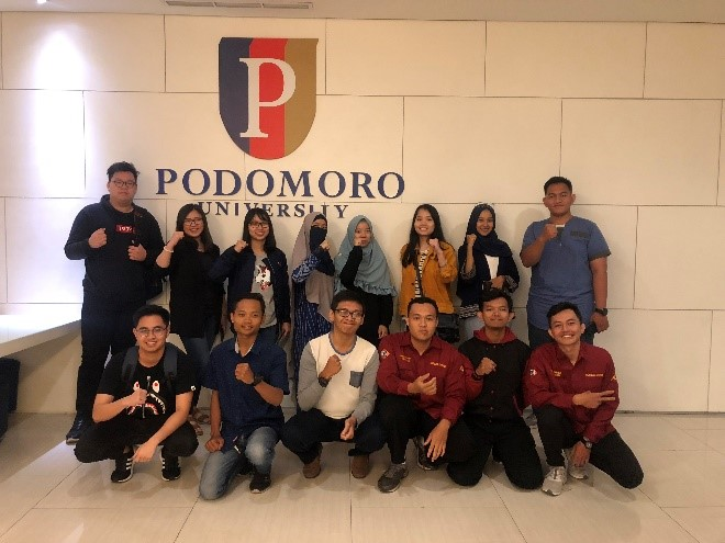 Meet-up Peserta KBMI Jabodetabek di Podomoro University