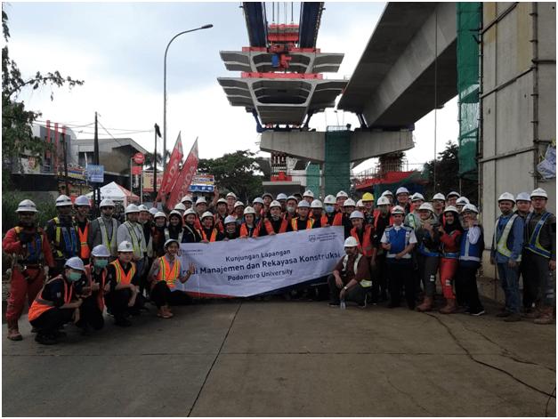 Terjun langsung di Proyek Bogor Ring Road