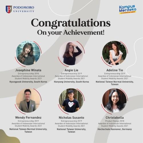 Awardee of Indonesian International Student Mobility Awards 2021