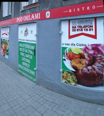 front restauracji