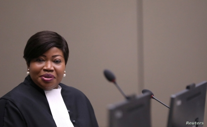Public Prosecutor Fatou Bensouda attends the trial for Malian Islamist militant Al Hassan Ag Abdoul Aziz Ag Mohamed Ag Mahmoud at the International Criminal Court in the Hague, the Netherlands, July 8, 2019.